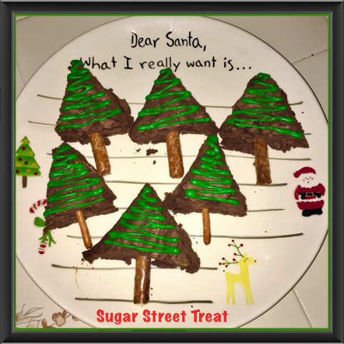 Holiday Brownies Sugar Street Treat